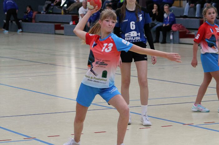 Berolina mit sechs Teams im Punktspieleinsatz