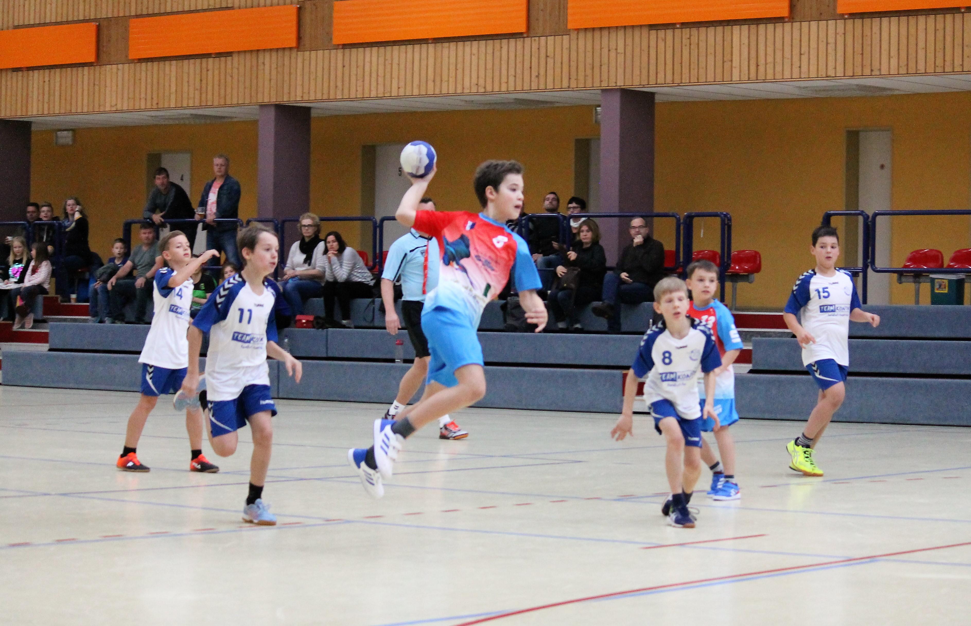 Fotos mE gegen HSV Oberhavel